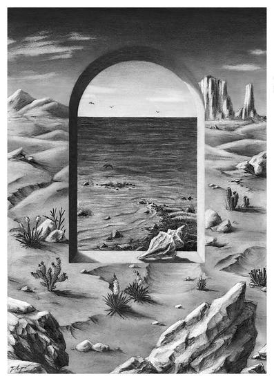 Oasis (2020) - print