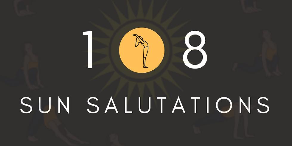 2020 Intention Setting & 108 Sun Salutations