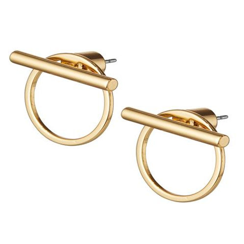 rhye two-way gold earring
