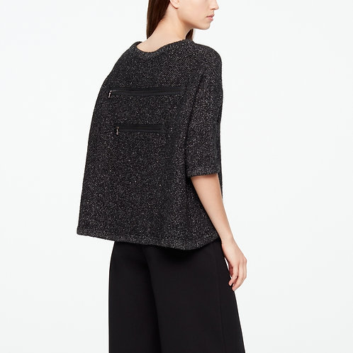 CHINÉ SWEATER - HALF SLEEVES
