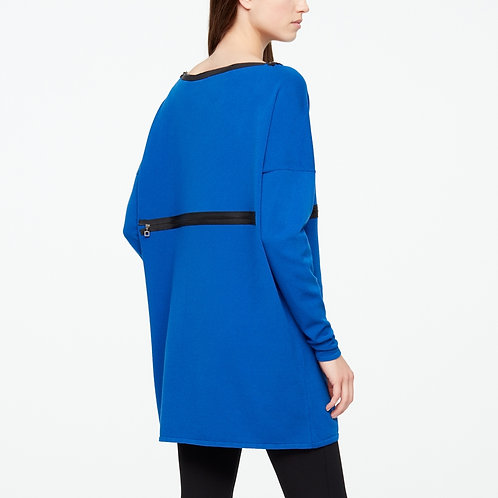 VISCOSE LONG SWEATER