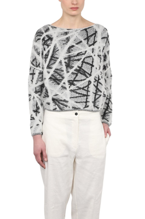 CROSSING LINES SWEATER