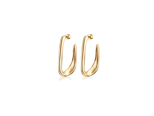 edith gold earring