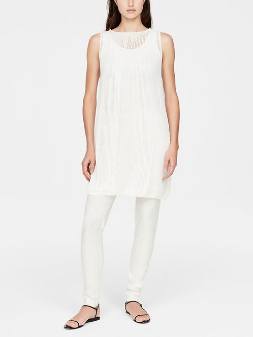 LINEN DRESS - PERFORATED