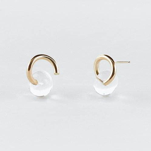 Dewy Coil Earrings