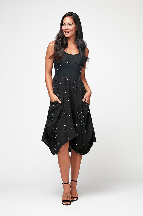 """POLKA DOT BLACK MAGIC DRESS"""