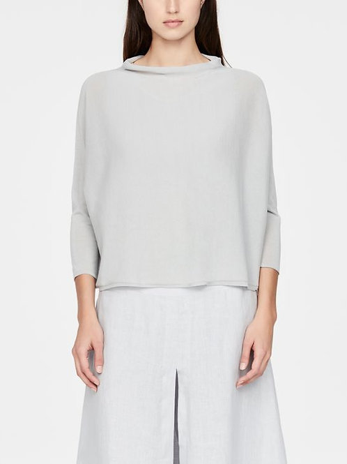 MAKO COTTON SWEATER - ¾ SLEEVES