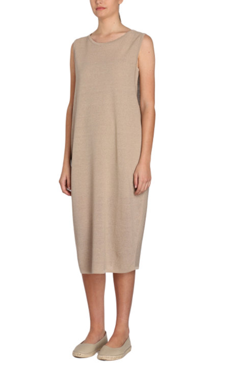 KNIT taupe DRESS