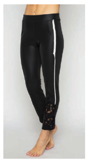 LACE DETAILED LEGGING PANTS