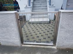portail inox