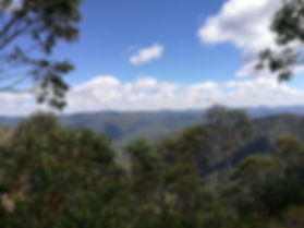 Views from John's Peak to the North West, Tidbinbilla