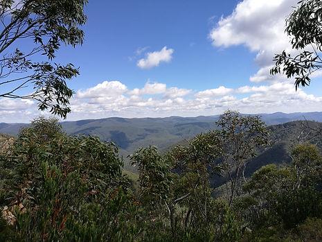 Views from John's Peak to the North West, Tidbinbilla