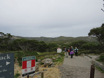 Start of Main Range Loop Walk, Kosciuszko National Park