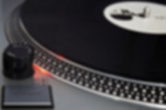 record being played on a technics 1200 turntable