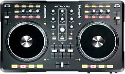 i also offer the use of dj controllers, like this numark mixtrack pro. They are useful for smaller wedding venues