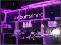 the ice bar in barcelona