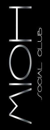 mioh social club logo for a. club in barcelona