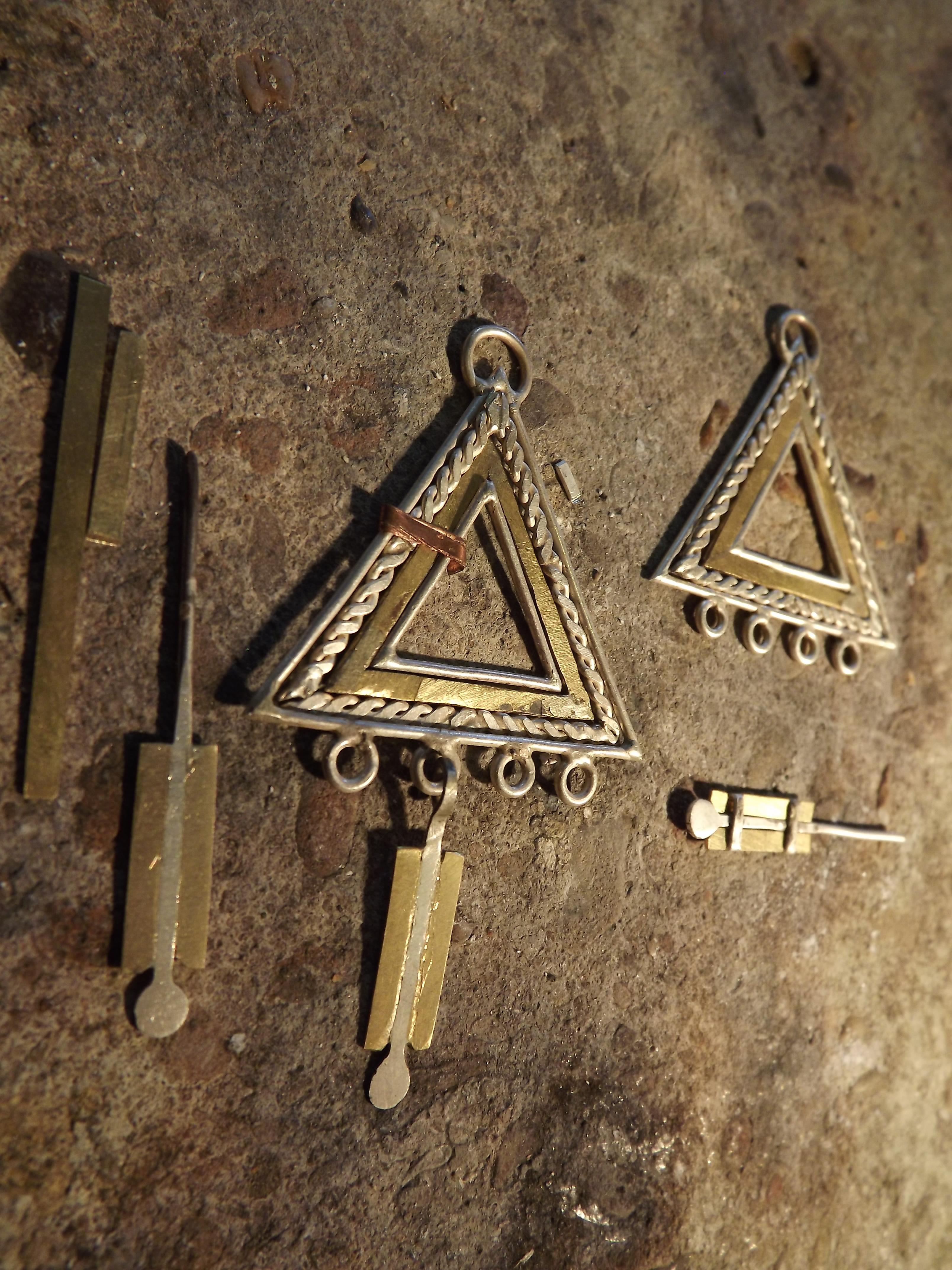 Triangle Earings