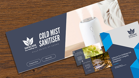 Example of branding collateral created by Digi-Ed
