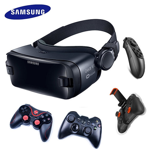 Samsung Gear VR 5.0 3D Glasses VR With Bluetooth Controller