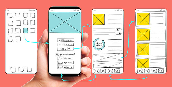 Mobile Web Wireframe