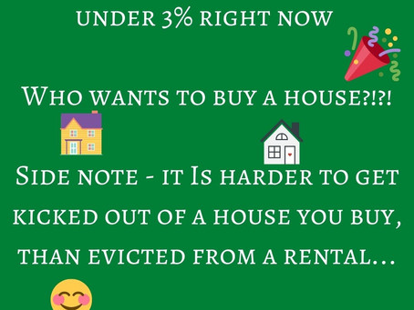 Getting evicted?