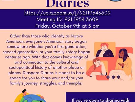 Diaspora Diaries