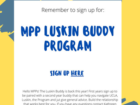 Luskin Buddy Program 2020-2021