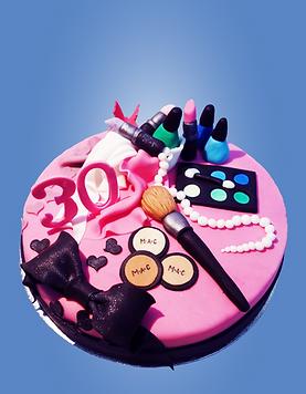 Moderne Geburtstagstorte