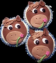 pferde cupcake