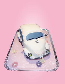 Moderne 3D Torte