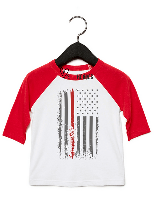 THIN RED LINE  ( RED SLEEVE)