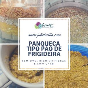 PANQUECA TIPO PÃO DE FRIGIDEIRA
