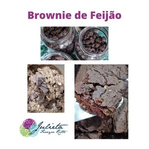 BROWNIE DE MASSA DE FEIJÃO