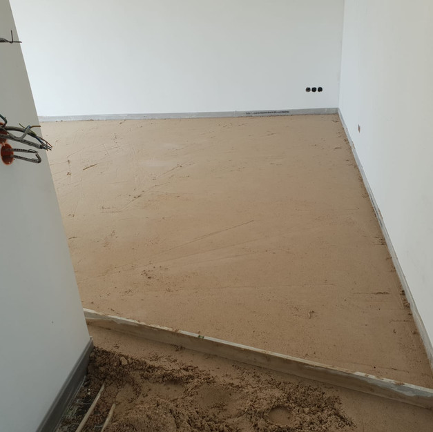 Fußboden Penthouse Neubau