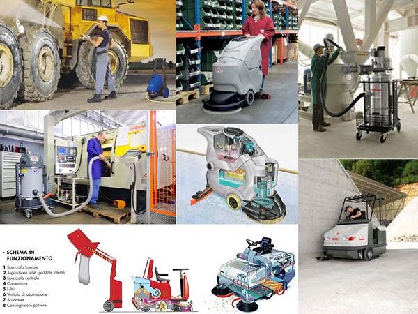 Applicazioni delle Macchine per la Pulizia Industriale