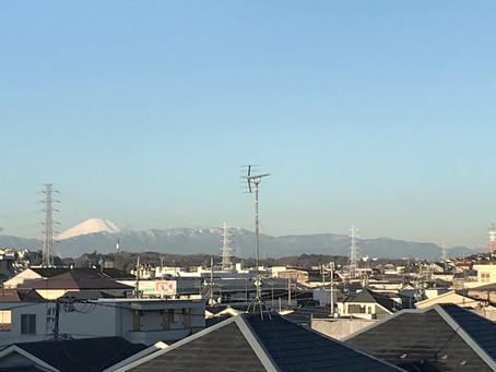 2月8日 晴れの日富士山