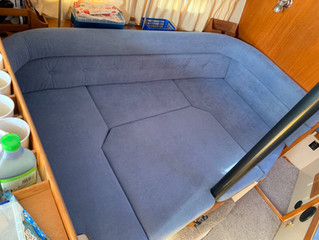 Sailing yacht upholstery and mattresses