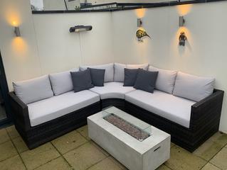 Garden seating recover