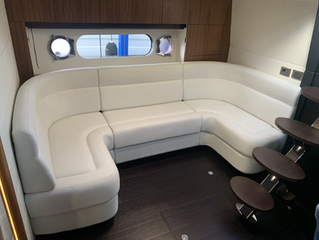 Sunseeker San Remo 485 upholstery recover