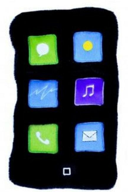 iphone plush
