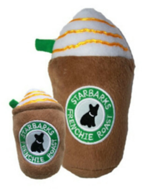 Starbarks Frenchie Roast iced plush