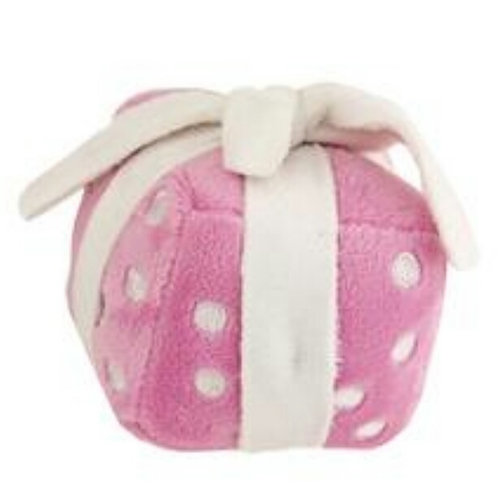Pink birthday present plush