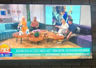 Live on TVP PNS