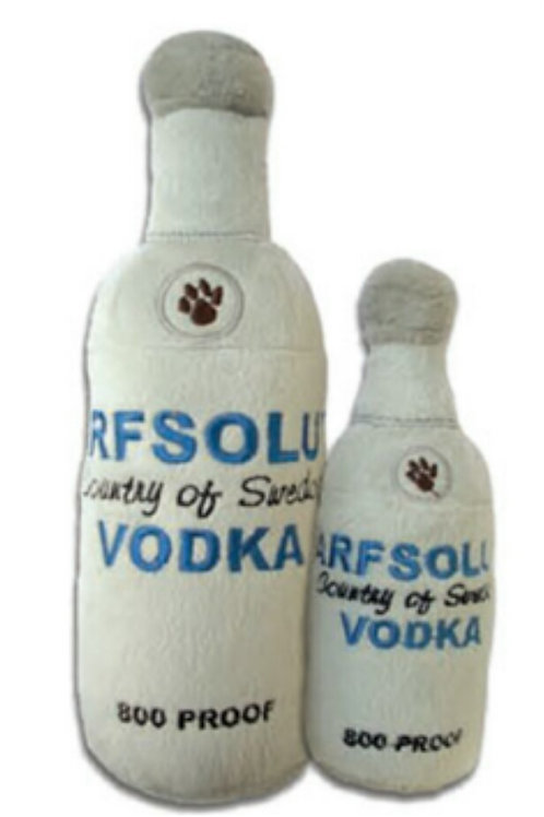 Arfsolute Vodka plush