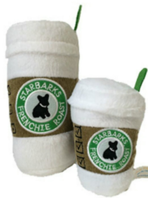 Starbucks Frenchie Roast warm coffee plush