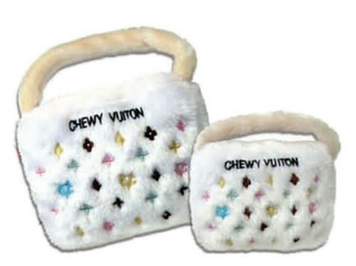 Chewy Vuitton plush toy small and large