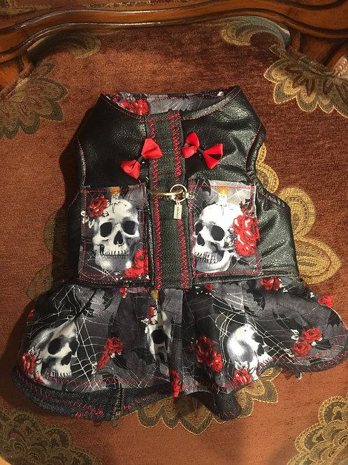 Skull Harness Dress