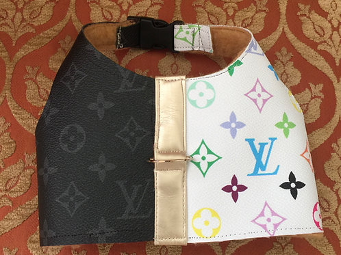 Limited edition lv inspired multicolored harness vest