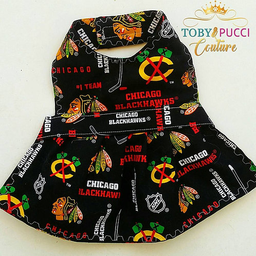 chicago black hawks dress